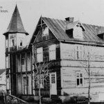 Hillersholm/Bergdalshuset. Byggt 1913-revs 1968