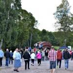 Invigning av bron