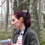 Journalisten Nilla Lind besökte oss med pennan i örat-