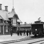 Hädinge station1903