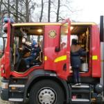 Kollar Brandkårens grejor