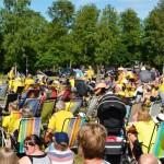 Stor fest i Hamnen när Sverige spelade 8-delsfinal
