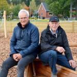 Alf och Jörgen. Foto Hanna Eklöf Värnamo Nyheter