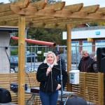 Kommunalråd Kristine Hästmark är ofta på invigningar i Hillerstorp
