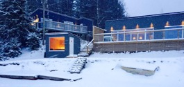 Beach House in Winter