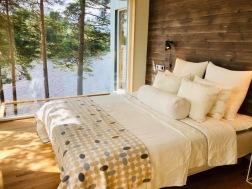 Nya master bedroom uppe på kullen
