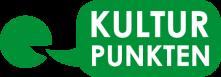 Kulturpunktens logotyp. Länk till Kulturpunkten.nu