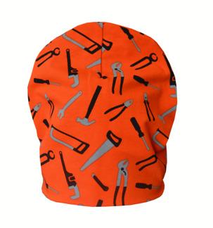 Burken mössa orange m verktyg - Mössa orange verktyg stl 40