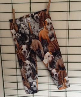 Leggings med digitaltryck - Leggings bulldog stl 80