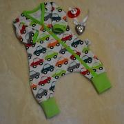 Baggydress med bilar
