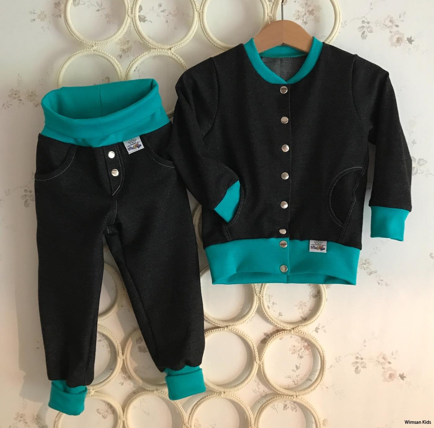 Barnkläder Wimsan Kids tunn jacka
