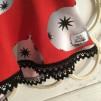Klänning / tunika med julkulor