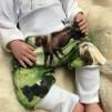 Byxor med ponnies till baby
