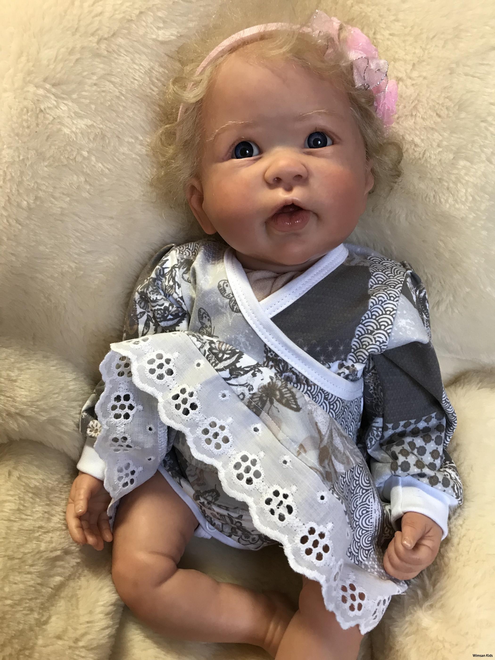 Bodyklänning till baby sydd av Wimsan Kids