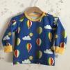 Långärmad t-shirt luftballonger - Tröja luftballonger stl 86