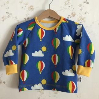 Långärmad t-shirt luftballonger - Tröja luftballonger stl 80