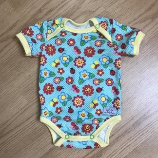 Body till baby med sommarmönster - Sommar body stl 68