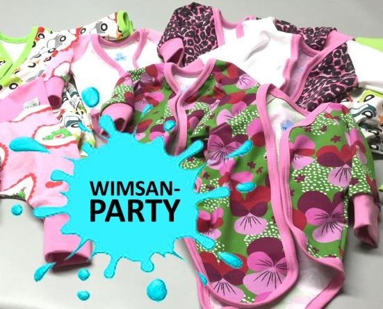 Wimsan-party klädparty för baby & småbarn