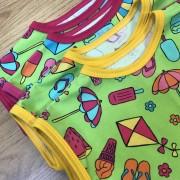 T-shirt barn strandlek