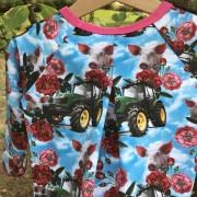 Tunika traktor ekologisk bomull