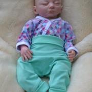 Babybyxor mint ekologiskt tyg