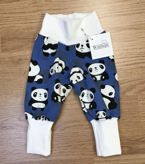 Byxor baby med pandor - Babybyxor med pandor stl 56
