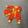 Dockoverall orange m verktyg 43 cm