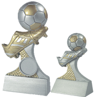 Fotboll statyett