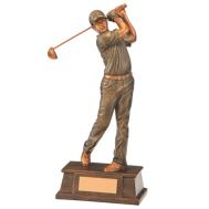 Golf Eagle Herr Statyett