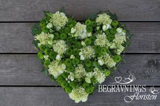 Hjärta - Hjärta lime (enligt bild)