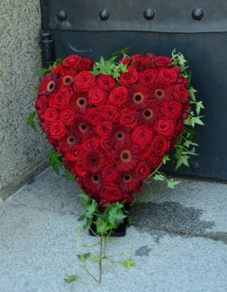 Hjärta - Rött (enligt bild)