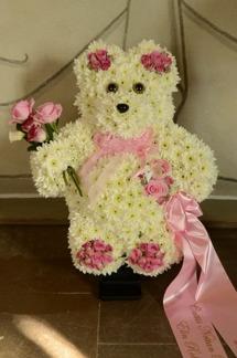 Nallebjörn - Rosa detaljer (enligt bild)
