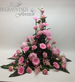 Stående arrangemang - Rosa