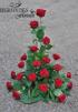 Stående arrangemang - Röda (enligt bild)