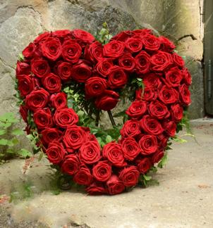 Stort hjärta - Röda (enligt bild)