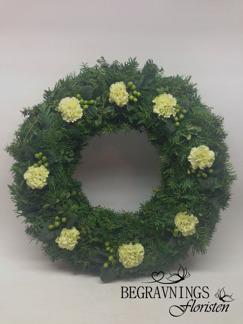 Krans - Limegröna (enligt bild)