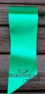 Band Maskintextat Grönt