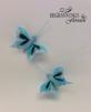 Fjärilar - Fjäril turkosblå