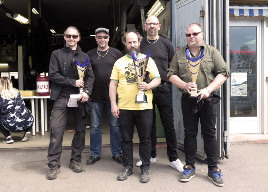 Jerry, Frasse (Allbilservice), Magnus, Jocke (Allbilservice), Nicklas