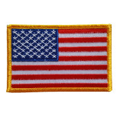 Patch USA Flagga