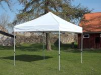 Tält 3 x 3m ,byggs på 10minuter,för mässa mm