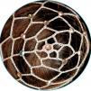 Hårnät med stenar - Beige m silver stenar (AB Silver)