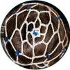 Hårnät med stenar - Beige m blå stenar (Saphire)