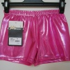 Glansiga hotpants - Rosa S (160 cm)