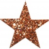 Hårspänne stjärna - Brons