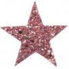 Hårspänne stjärna - Rosa