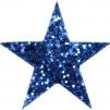 Hårspänne stjärna - Blå