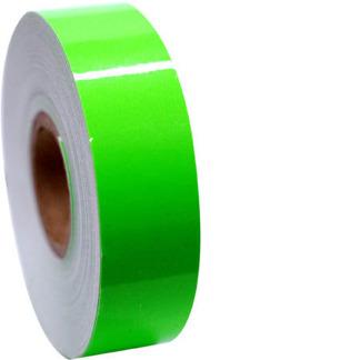 Enfärgad tejp 11m - Grön