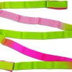 Band 5m flerfärgat - Cerise/Grön/Rosa