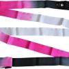 Band 6 meter, flerfärgat - Svart/Cerise/Vit